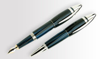 UNDERWOOD PICCADILLY EBONITE FOUNTAIN PEN