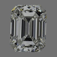 1.0 Carat E/IF GIA Certified Emerald Diamond
