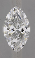 1.0 Carat D/VVS1 GIA Certified Marquise Diamond