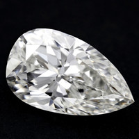 3.01 Carat H/VS2 Pear Cut Diamond (GIA Certified)