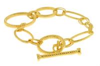 Herco Bracelets 14KT Yellow Link Bracelet 14IABR10Y8