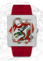 Franck Muller Infinity Dragon WG Quartz Diamond Watch 3740 QZ DRG D CD-1