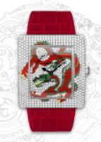 Franck Muller Infinity Dragon WG Quartz Diamond Watch 3740 QZ DRG D CD-1