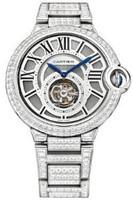 Cartier Ballon Bleu Tourbillon WG Diamond Watch HPI00281