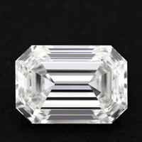 3.04 Carat D/VVS1 Emerald Cut Diamond (GIA Certified)