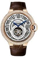 Cartier Ballon Bleu Tourbillon Pink Gold Diamond Watch HPI00450