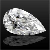 2.2 Carat D/VS2 Pear Cut Diamond (GIA Certified)