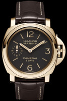Panerai Luminor Marina 8 Days Oro Rosso Watch PAM00511