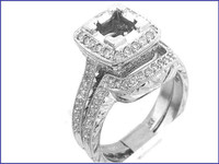 Gregorio Platinum Diamond Engagement Ring R-238