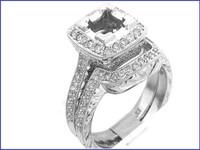 Gregorio Platinum Diamond Engagement Ring R-238
