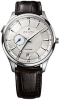 Zenith Elite Captain Dual Time SS 03.2130.682/02.C498