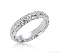 Ziva Pave Diamond Eternity Ring