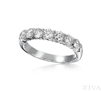 Ziva One Carat Diamond Wedding Band