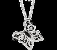 Van Der Bauwede 18K WG Diamond Butterfly Pendant (Small) 00483