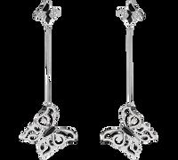 Van Der Bauwede 18K WG Diamond Butterfly Earrings (Small) 00484