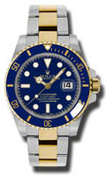 Rolex Submariner Steel & Gold 116613BLU