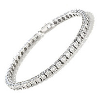8.75 CT RD Diamond Tennis Bracelet