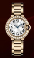 Cartier Ballon Bleu Small (Diamonds/Silver/RG)