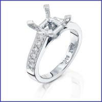 Gregorio Platinum Diamond Engagement Ring R-5052