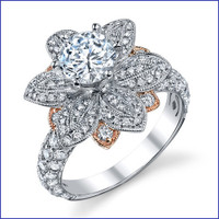 Gregorio 18K WG Diamond Engagement Ring R-545