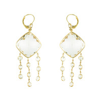 Herco Earrings 14KTY Earring Crystal Quartz 14VAEA62Y