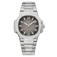 Patek Philippe Nautilus Automatic Diamonds WG WoWatch 7018/1A-001