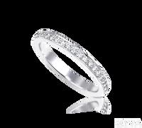 Ziva Thin Pave Diamond Eternity Band