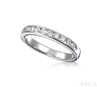 Ziva Diamond Wedding Band