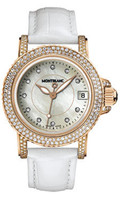 Montblanc Sport Lady Red Gold Diamonds 104711
