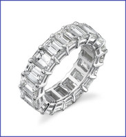 Gregorio 18K WG Diamond Engagement Band R-406
