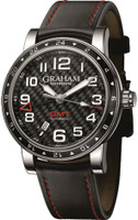 Graham Silverstone Time Zone Black Watch 2TZAS.B02A