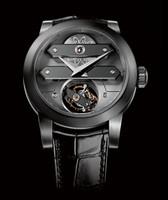 Girard-Perregaux Tourbillon Bi-Axial Tantalum Men's Watch 99810-81-000-BA6A