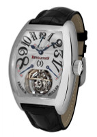 Franck Muller Revolution Tourbillon Platinum Mechanical Watch 9800 REV 3