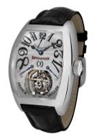 Franck Muller Revolution Tourbillon Platinum Mechanical Watch 9800 REV 3