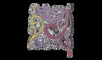 Van Der Bauwede 18K WG & Black Rhodium Oriental Dream Ring 00689