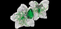 Van Der Bauwede 18K WG Butterfly Lovers Ring 00569