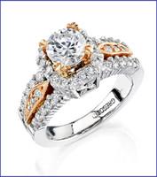 Gregorio Platinum Diamond Engagement Ring R-192