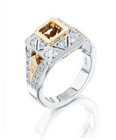 Gregorio 18K WG Diamond Engagement Ring MTR-270