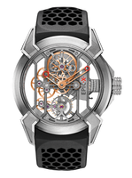 Jacob & Co Epic X Titanium/Rose Gold Manual Men's Skeleton Watch 550.100.20.NS.OY.4NS.RG