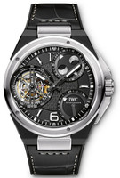 IWC Ingenieur Constant Force Tourbillon Platinum & Black Ceramic Watch IW590001