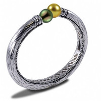Imperial Tahitian & Golden Pearls Bracelet 632130/B-GSS