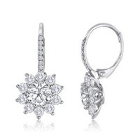 2.58 CT Diamond Earrings