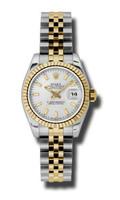 Rolex Datejust Lady Steel & YG Fluted Bezel Jubilee 179173SSJ