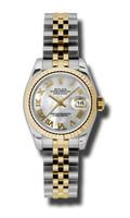 Rolex Datejust Lady Steel & YG Fluted Bezel Jubilee 179173MRJ