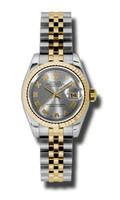 Rolex Datejust Lady Steel & YG Fluted Bezel Jubilee 179173GRJ