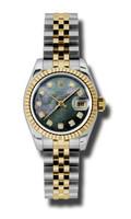 Rolex Datejust Lady Steel & YG Fluted Bezel Jubilee 179173DKMDJ
