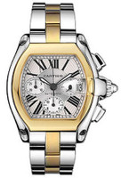 Cartier Roadster Chronograph (SS /Silver/YG SS)