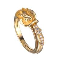 Magerit Versailles Fish Fountain Ring SO1712.1