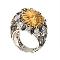 Magerit Versailles Cupula Sol Ring SO1705.2