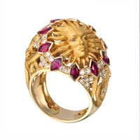 Magerit Versailles Cupula Sol Ring SO1705.1